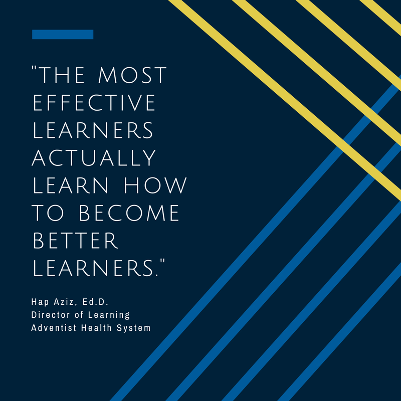 a quote about learning from hap aziz
